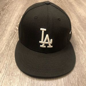 LA Dodgers NewEra Fitted Hat Sz 7 5/8